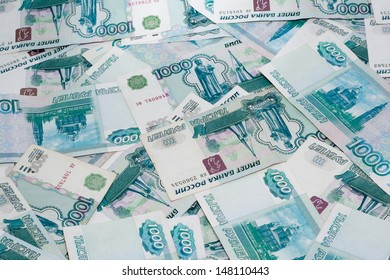 notes from the face value of one thousand rubles