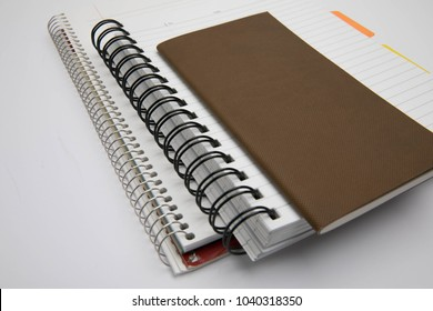 Notes, notebooks, and pens