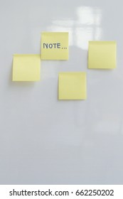 Notes on post it to remind.In everday life.