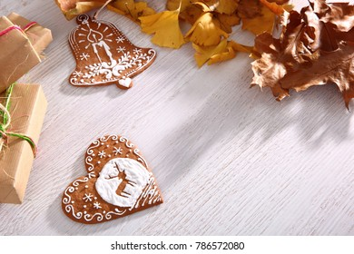 Nothing more wonderful than a gingerbread ornament served for Christmas.