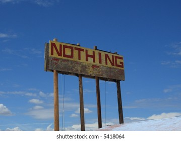 Nothing, a town in Arizona
