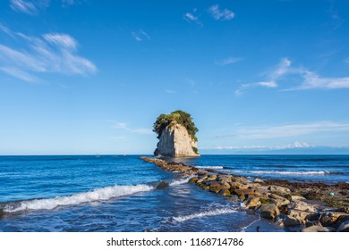 Noto Peninsula is a peninsula that projects north into the Sea of Japan