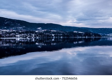 Notodden Lake Norway