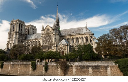The Notre Dame cathedral is historical monument, one of the most visited in Paris, considered as one of the finest examples of French Gothic architecture.