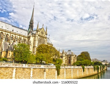 The Notre Dame Cathedral, Paris, France