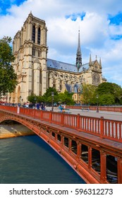 Notre Dame cathedral in Paris France French Gothic architecture