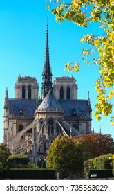 The Notre Dame Cathedral , Paris, France.