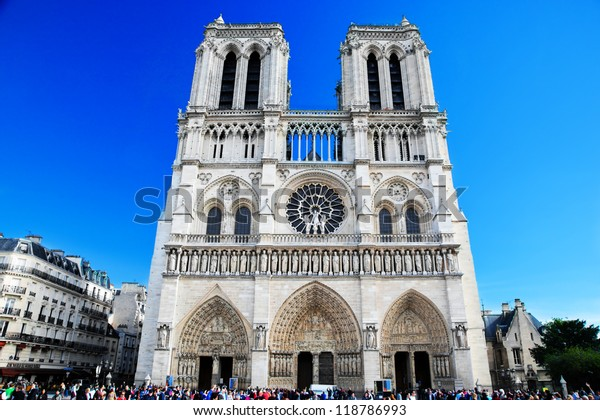 Notre Dame Cathedral Paris France Paris Stock Photo Edit Now