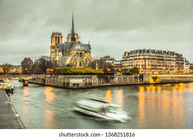 Notre Dame Cathedral in Paris HDR