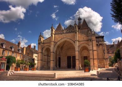 Notre Dame Church at Beaune, Burgundy - France