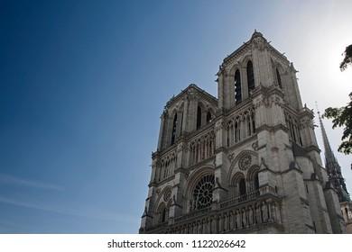 notre dame, cymbol of old city of paris
