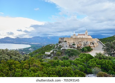 Notre Dame de la Serra near Calvi, Corsica, France