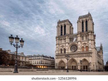 Notre Dame de Paris Cathedral, most beautiful Cathedral in Paris.