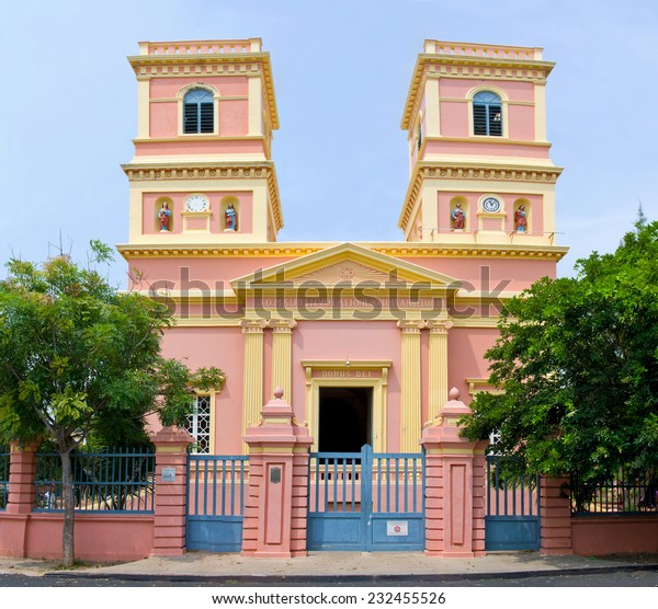 Notre Dame des Anges in Pondicherry, (Christian Church), South India.