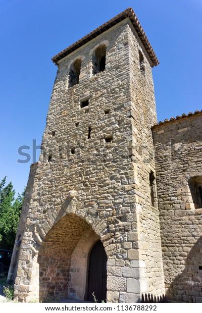 Notre Dame Du Colombier Romanesque Architecture Royalty