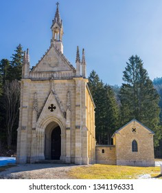 Notre Dame du Lac Chapel (Lake Chapel) at Bouverans Doubs Franche Comté France