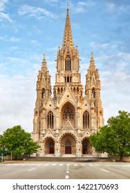 Notre Dame du Sablon's Cathedral in Brussels, Belgium