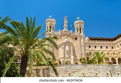 Notre Dame of Jerusalem Center, built in 1885, - Israel