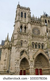 Notre-Dame Cathedral of Amiens, France, side view