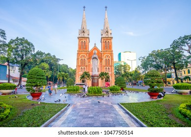 Notre-Dame Cathedral Basilica of Saigon, Vietnam