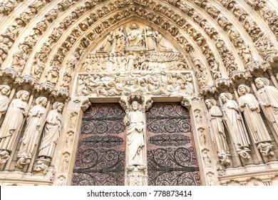 Notre-Dame de Paris Cathedral in Paris, France