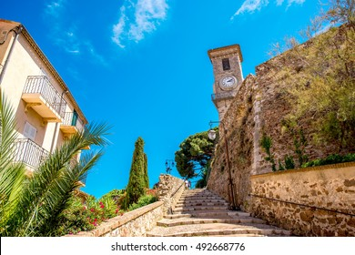 Notre-Dame Esperance church in Cannes city in French riviera. This church is very popular tourist attraction in Cannes