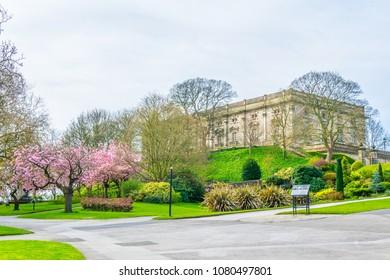 the Nottingham castle, England