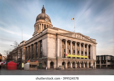 Nottingham Council House side shot in Evening (Long Exposure)