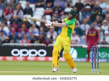 NOTTINGHAM, ENGLAND. 06 JUNE 2019: David Warner of Australia batting during the Australia against West Indies, ICC Cricket World Cup match, at Trent Bridge, Nottingham, England.