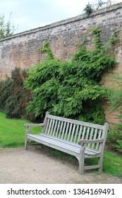 Nottingham, United Kingdom - September 11, 2014: Gardens in Newstead Abbey