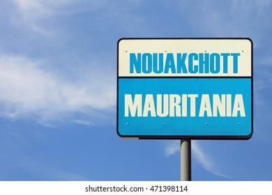 Nouakchott Mauritania Sign