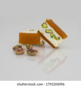 Nougat with pistachio and apricot