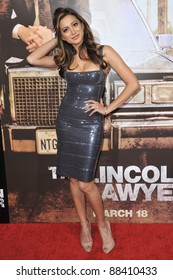 """Noureen DeWulf at the Los Angeles premiere of """"The Lincoln Lawyer"""" at the Cinerama Dome, Hollywood. March 10, 2011  Los Angeles, CA Picture: Paul Smith / Featureflash"""