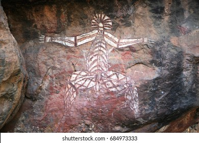 Nourlangie Rock Aboriginal art sites, Kakadu National Park, Northern Territory, Australia