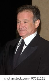 Nov 12, 2004; Beverly Hills, CA: Actor/comedian ROBIN WILLIAMS at the 19th Annual American Cinematheque Award Gala honoring Steve Martin at the Beverly Hilton Hotel, Beverly Hills, CA.