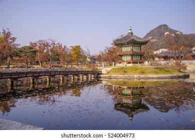 Nov 16,2016 at  Gyeongbokgung Palace , Seoul , Korea