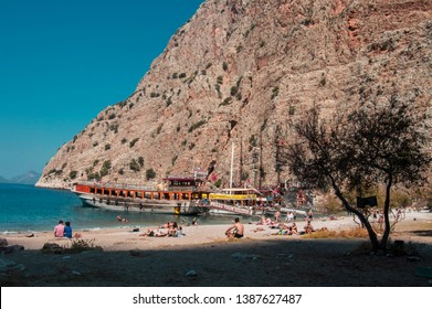 Novamber, 3, 2016: in Oludeniz, Mugla, Turkey Batterfly valley