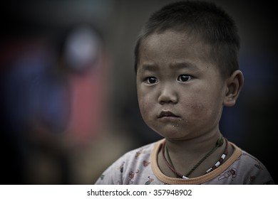 November 11, 2014: Thai hill tribe in the north part of thailand, Doi Ang Khang, Chiangmai province, Thailand.