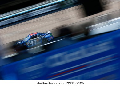 November 11, 2018 - Avondale, Arizona, USA: Darrell Wallace, Jr (43) battles for position during the Can-Am 500(k) at ISM Raceway in Avondale, Arizona.