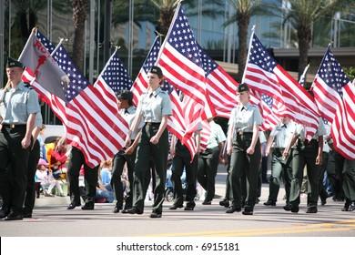 November 12 2007 Veteran's Day Parade in Jacksonville Florida