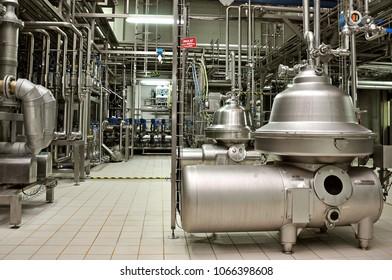 November 13 2012, Danone factory chemistry department in Luleburgaz town, Istanbul, Turkey