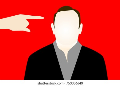 NOVEMBER 13, 2017: An illustration showing the likeness of actor Kevin Spacey who was accused of sexual harassment.