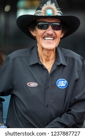 November 16, 2018 - Homestead, Florida, USA: Richard Petty smiles for the cameras before a practice for the Ford 400 at Homestead-Miami Speedway in Homestead, Florida.