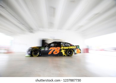 November 16, 2018 - Homestead, Florida, USA: Martin Truex, Jr (78) heads out to practice for the Ford 400 at Homestead-Miami Speedway in Homestead, Florida.