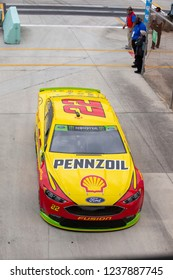November 16, 2018 - Homestead, Florida, USA: Joey Logano (22) gears up to practice for the Ford 400 at Homestead-Miami Speedway in Homestead, Florida.