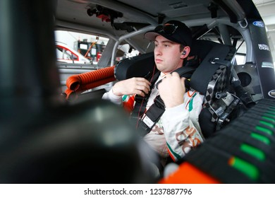 November 16, 2018 - Homestead, Florida, USA: Chase Briscoe (60) gets ready to practice for the Ford 300 at Homestead-Miami Speedway in Homestead, Florida.