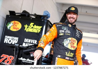November 17, 2018 - Homestead, Florida, USA: Martin Truex, Jr (78) gets ready to practice for the Ford 400 at Homestead-Miami Speedway in Homestead, Florida.