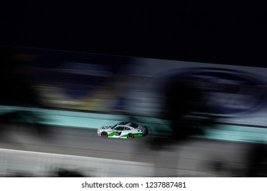 November 17, 2018 - Homestead, Florida, USA: Tyler Reddick (9) races down the back stretch during the Ford 300 at Homestead-Miami Speedway in Homestead, Florida.