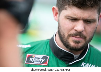 November 17, 2018 - Homestead, Florida, USA: Ryan Truex (11) gets ready to qualify for the Ford 300 at Homestead-Miami Speedway in Homestead, Florida.