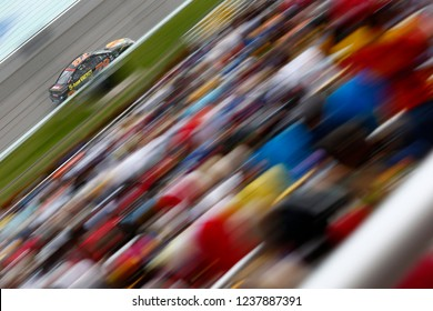 November 18, 2018 - Homestead, Florida, USA: Martin Truex, Jr (78) races down the front stretch during the Ford 400 at Homestead-Miami Speedway in Homestead, Florida.